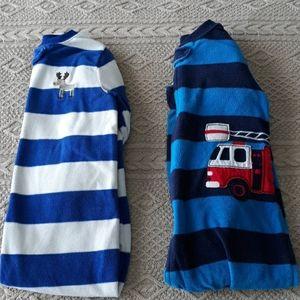 Baby boy bundle fleece footed pajama carters 24m